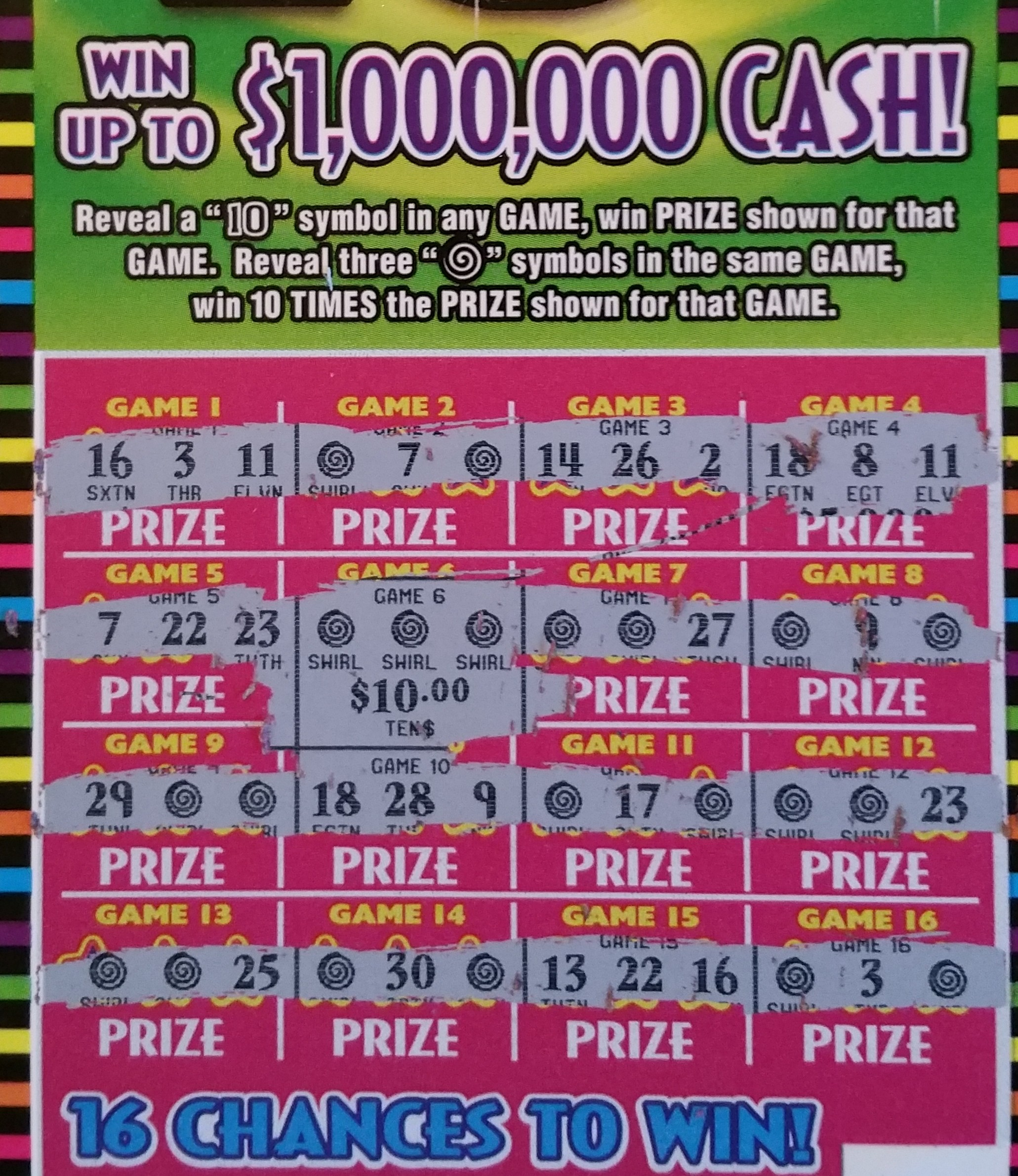 how to pick a winning scratch off ticket